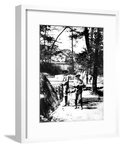 Western Visitors to Korea, 1900--Framed Art Print
