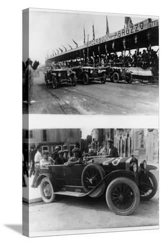 The Targa Abruzzo Race, Pescara, Italy, 1926--Stretched Canvas Print