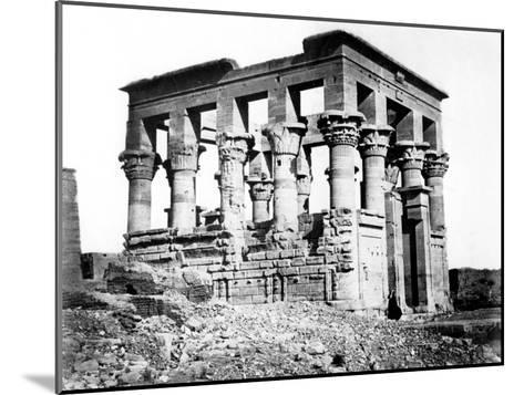 Trajan's Kiosk at Philae, Nubia, Egypt, 1878-Felix Bonfils-Mounted Giclee Print