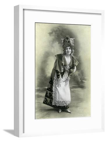 Charlotte Wiehe, 1901-Charles Reutlinger-Framed Art Print