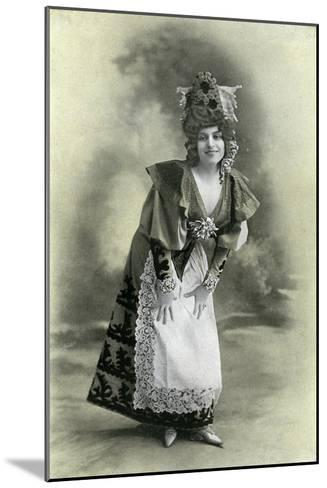 Charlotte Wiehe, 1901-Charles Reutlinger-Mounted Giclee Print