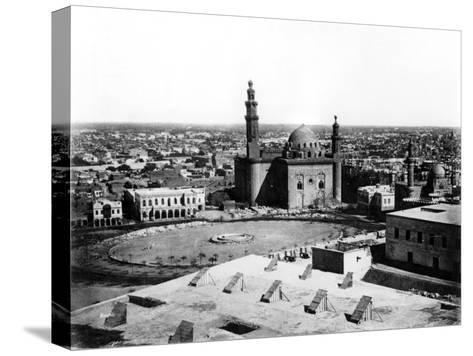 General View of Cairo, Egypt, 1878-Felix Bonfils-Stretched Canvas Print