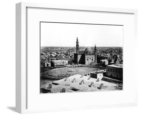 General View of Cairo, Egypt, 1878-Felix Bonfils-Framed Art Print