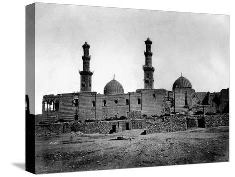 Sultan Barquq Mosque, Cairo, Egypt, 1878-Felix Bonfils-Stretched Canvas Print