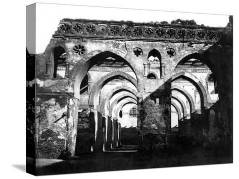 Mosque Ruin, Cairo, Egypt, 1878-Felix Bonfils-Stretched Canvas Print