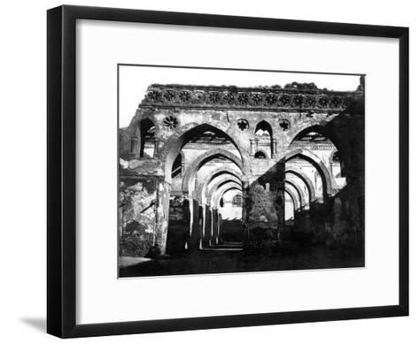 Mosque Ruin, Cairo, Egypt, 1878-Felix Bonfils-Framed Art Print