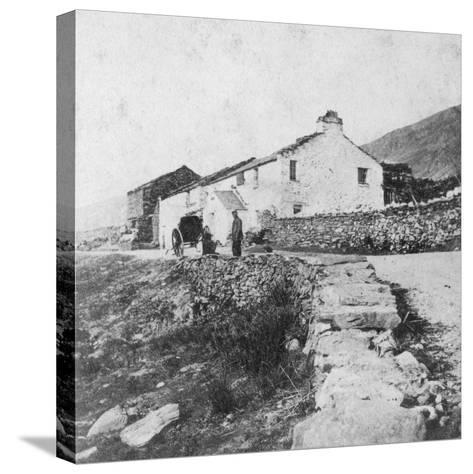 Kirkstone Pass Inn, the Lake District, Westmorland, Late 19th or Early 20th Century-G Waters-Stretched Canvas Print