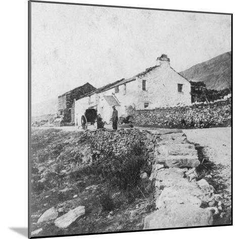 Kirkstone Pass Inn, the Lake District, Westmorland, Late 19th or Early 20th Century-G Waters-Mounted Giclee Print
