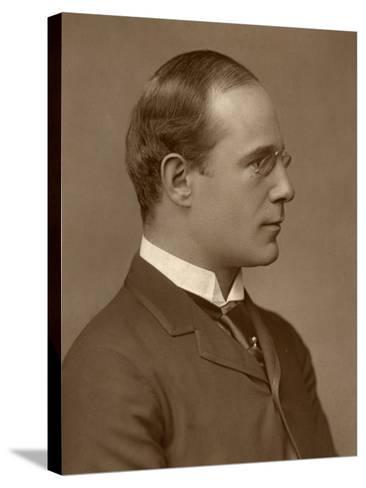 Richard Mansfield, British Actor-Manager, 1888-Elliott & Fry-Stretched Canvas Print