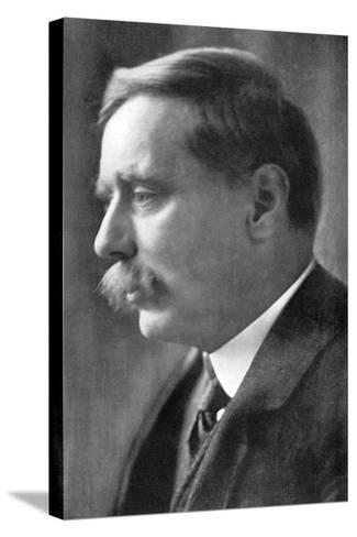 Herbert George Wells, British Novelist, 1914-Emil Otto Hoppe-Stretched Canvas Print