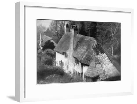 Cottage, Selworthy, Somerset, 1924-1926-Emil Otto Hoppe-Framed Art Print