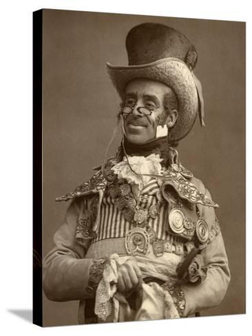 Arthur Roberts, British Actor, Comedian and Music Hall Entertainer, 1888-Ernest Barraud-Stretched Canvas Print