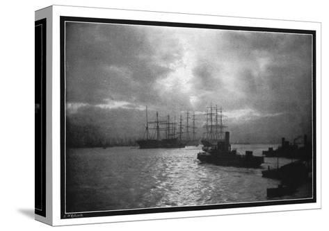 The Tyne, 1901-EW Ashworth-Stretched Canvas Print