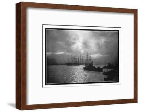 The Tyne, 1901-EW Ashworth-Framed Art Print