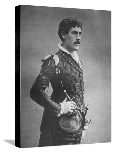 George Alexander, British Actor and Theatre Manager, as 'Faust, 1887-Ernest Barraud-Stretched Canvas Print