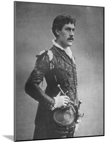 George Alexander, British Actor and Theatre Manager, as 'Faust, 1887-Ernest Barraud-Mounted Giclee Print