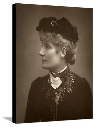 Harriett Jay, British Author and Playwright, 1888-Ernest Barraud-Stretched Canvas Print