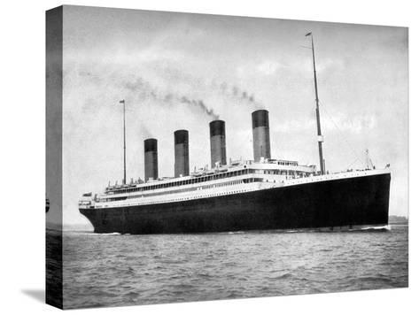 RMS Olympic, White Star Line Ocean Liner, 1911-1912-FGO Stuart-Stretched Canvas Print