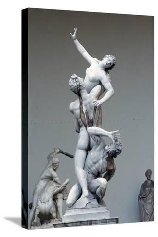 The Rape of the Sabine Women, C1583-Giambologna-Stretched Canvas Print