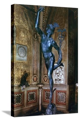 Mercury, 1580-Giambologna-Stretched Canvas Print