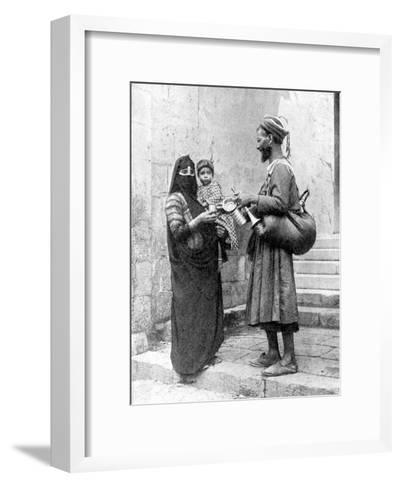 A Water Seller, Cairo, Egypt, 1936-Donald Mcleish-Framed Art Print
