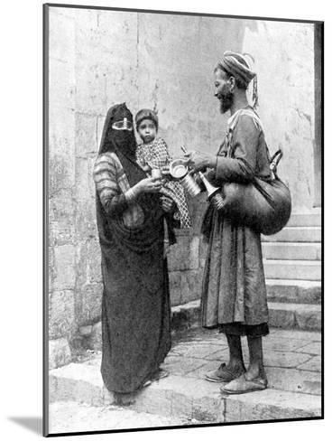 A Water Seller, Cairo, Egypt, 1936-Donald Mcleish-Mounted Giclee Print