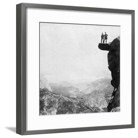 Yosemite Valley, California, 1894-BW Kilburn-Framed Art Print