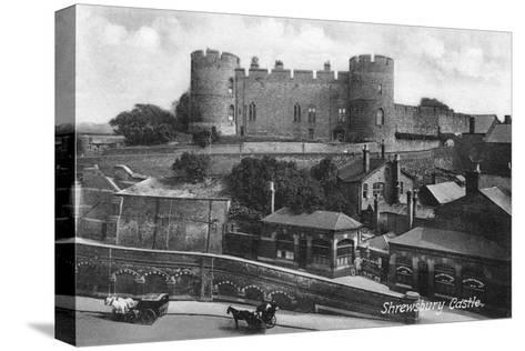 Shrewsbury Castle, Shrewsbury, Shropshire, C1900s-C1920S-Francis Frith-Stretched Canvas Print