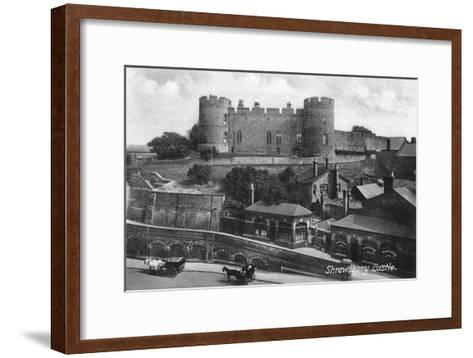 Shrewsbury Castle, Shrewsbury, Shropshire, C1900s-C1920S-Francis Frith-Framed Art Print