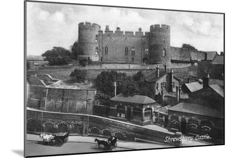 Shrewsbury Castle, Shrewsbury, Shropshire, C1900s-C1920S-Francis Frith-Mounted Giclee Print