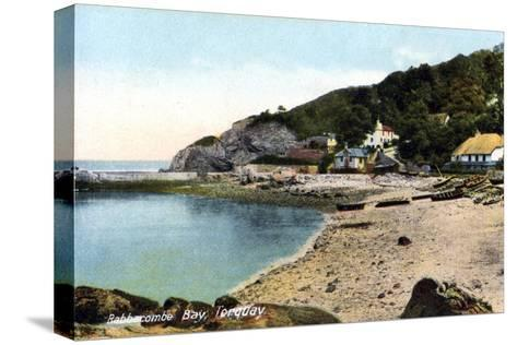 Babbacombe Bay, Torquay, Devon, 20th Century-Francis Frith-Stretched Canvas Print