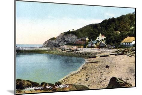 Babbacombe Bay, Torquay, Devon, 20th Century-Francis Frith-Mounted Giclee Print