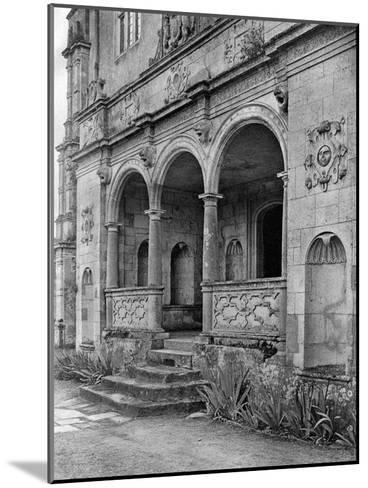 The Loggia, Cranborne Manor House, Dorset, 1924-1926-E Bastard-Mounted Giclee Print