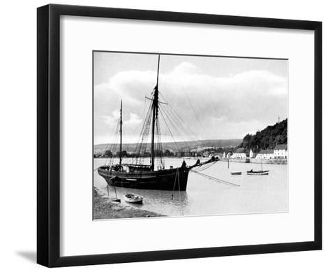 Minehead from the Harbour Wall, Somerset, 1924-1926-E Bastard-Framed Art Print