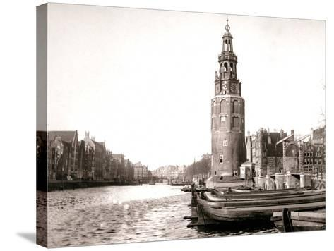 The Montelbaanstoren, Amsterdam, 1898-James Batkin-Stretched Canvas Print