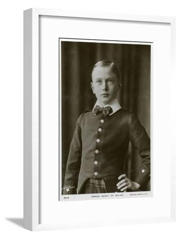 Prince Henry of Wales, C1905-C1909- Lafayette-Framed Art Print