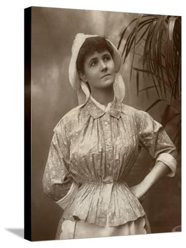 Agnes Hewitt, British Actress, 1887-HS Mandelssohn-Stretched Canvas Print
