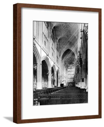 Interior, Bath Abbey, Somerset, 1924-1926-Humphrey Joel-Framed Art Print