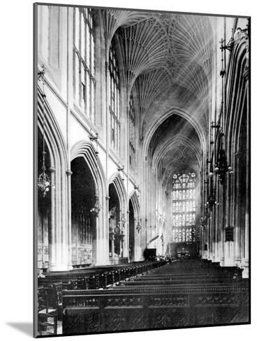 Interior, Bath Abbey, Somerset, 1924-1926-Humphrey Joel-Mounted Giclee Print