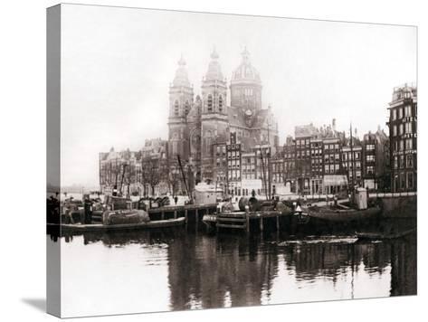 Church of St Nicholas Inside the Walls, Amsterdam, 1898-James Batkin-Stretched Canvas Print