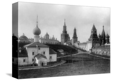The Ascension Convent in the Moscow Kremlin, Russia, 1903-K von Hahn-Stretched Canvas Print