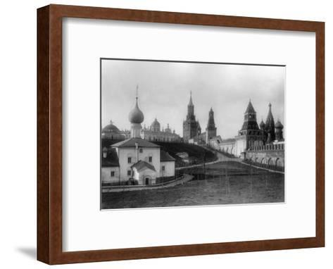 The Ascension Convent in the Moscow Kremlin, Russia, 1903-K von Hahn-Framed Art Print