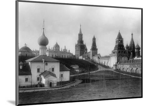 The Ascension Convent in the Moscow Kremlin, Russia, 1903-K von Hahn-Mounted Giclee Print