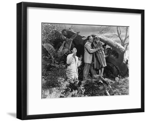 Scene from Now, Voyager, Warner Brothers Film, 1942-Irving Rapper-Framed Art Print