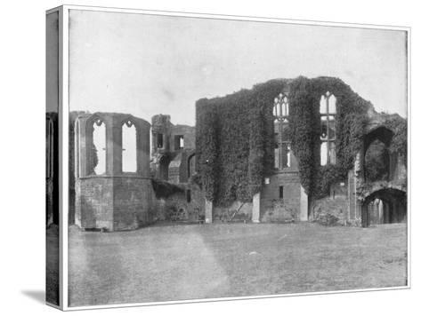 Kenilworth Castle, England, Late 19th Century-John L Stoddard-Stretched Canvas Print