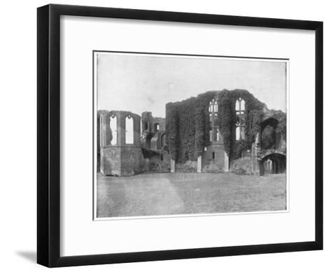 Kenilworth Castle, England, Late 19th Century-John L Stoddard-Framed Art Print