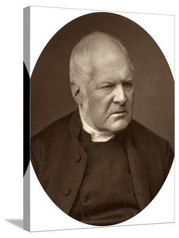 Reverend Edward Meyrick Goulburn, Dean of Norwich, 1880-Lock & Whitfield-Stretched Canvas Print