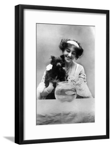 Sybil Arundale (1882-196), English Actress, 1900s- Lemeilleur-Framed Art Print