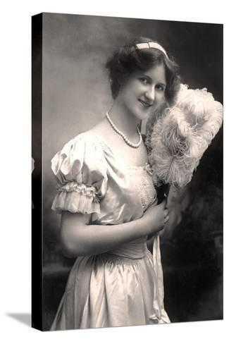 Nina Sevening, British Actress, Early 20th Century- Lemeilleur-Stretched Canvas Print
