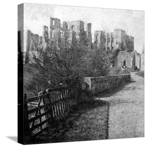 Kenilworth Castle, Warwickshire, Late 19th Century- Lenton-Stretched Canvas Print